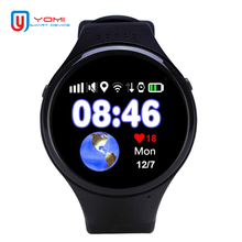 GPS Smart Watch 1.22′ Round Screen GPS WIFI Tracker Smartwatch SOS Remote Monitoring Watch For Kids Baby Elder Android IOS