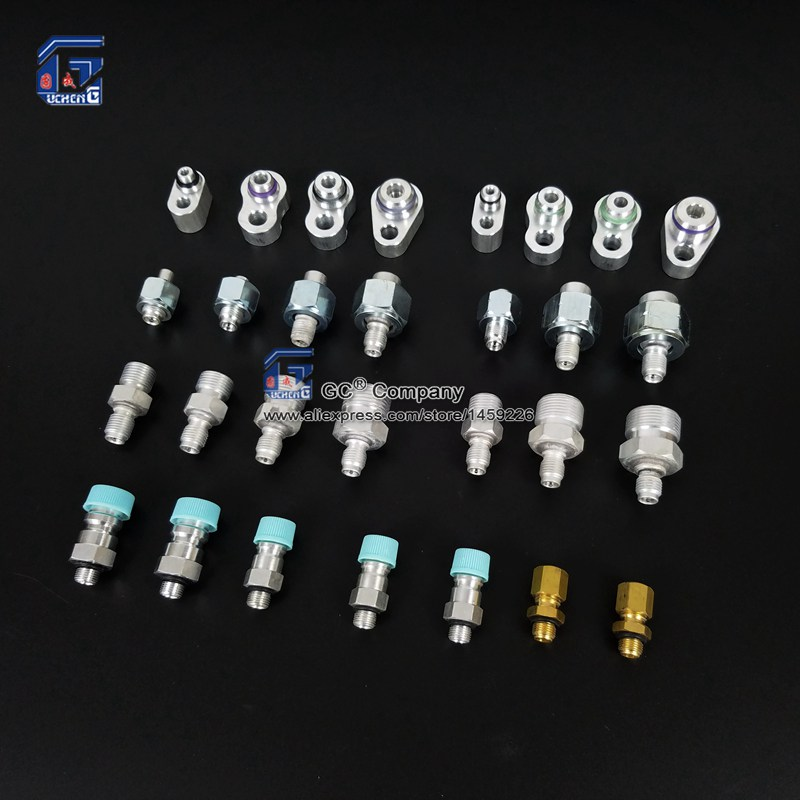 Air Conditioning Refrigerant Leak Detector Detection Leak Test Valve Connector Tool for Car Truck Tractor Vehicle R134a R12 GasAir Conditioning Refrigerant Leak Detector Detection Leak Test Valve Connector Tool for Car Truck Tractor Vehicle R134a R12 Gas