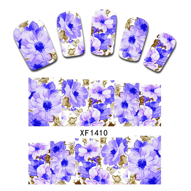 Water decals nail art sticker blossom 1pc mix pretty flower patterns water decals nail art sticker blossom 1pc mix pretty flower patterns transfer manicure beauty tool decoration mightylinksfo