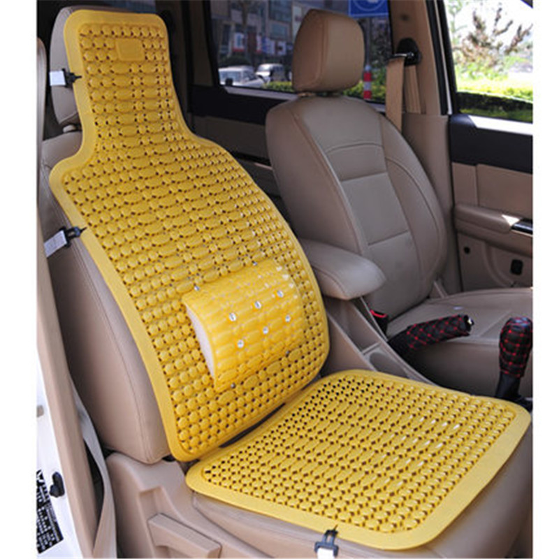Awesome Us 60 17 2Pcs Truck Seat Car Seat Covers Set Universal Pad Plastic Pvc Summer Cool Car Safety Seat Mat Waterproof Automobile Seat Covers In Alphanode Cool Chair Designs And Ideas Alphanodeonline