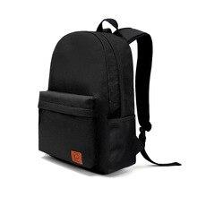 OL Marke Adrette Leinwand Rucksack Schultasche für Teenager Mädchen jungen Rucksack rucksack Solide Frische Farbe tasche BMT1