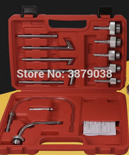 New arrival 13Pcs Oil Refill Filling Adaptor Set CVT Transmission Service Adapter ATF Adapters Transmission Oil