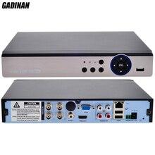 GADINAN 4CH AHD 4MP DVR /Hybrid 2*AHD 4M+2*IP 4M/ Pure:16*1080P;4*5M AHD/TVI/CVI/CVBS/IP 5 In 1 DVR NVR Wifi for 4MP AHD Camera