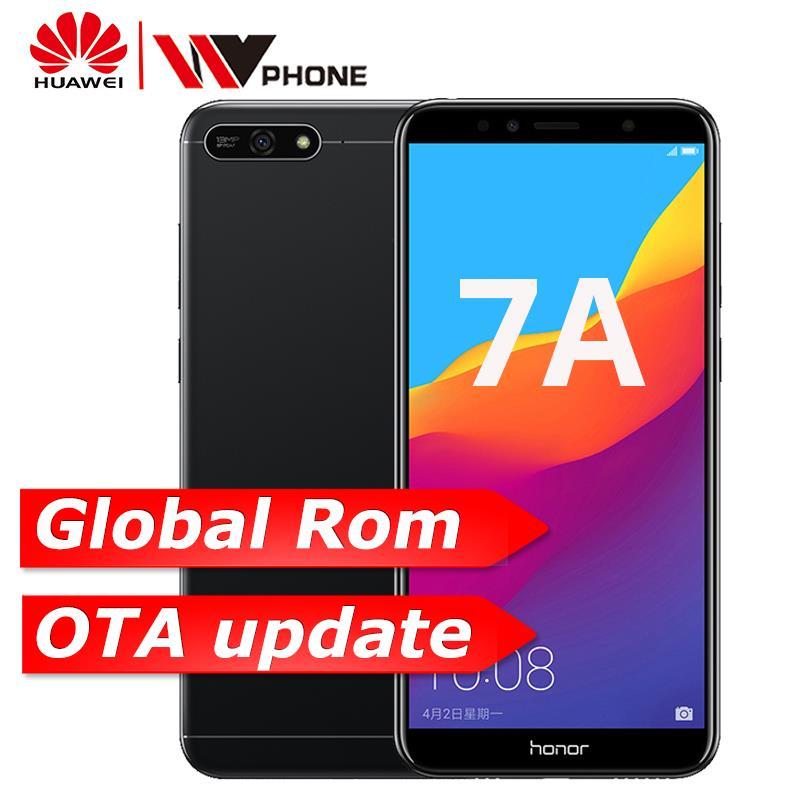 Huawei Honor 7A 2 ГБ 32 ГБ Face ID 5,7 дюймов Восьмиядерный Snapdragon 430 спереди 8.0MP сзади 13.0MP 3000 мАч