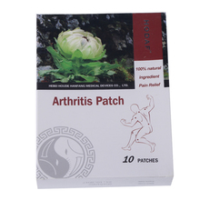 100% Natural Pain Relief Patch For Arthritis – 10 Pieces/Box