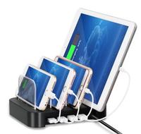 4 Port USB Hub Charger Charging Dock Station Stand Organizer for Tablet & Phone iphone 5 6 6 plus xiaomi huawei electronic items