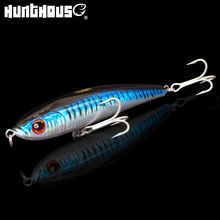 Hunthouse Noeby arduous lure large pencil lure stickbait 16cm 97.5g trolling lure pike fishing lure Synthetic bait for fishing bass