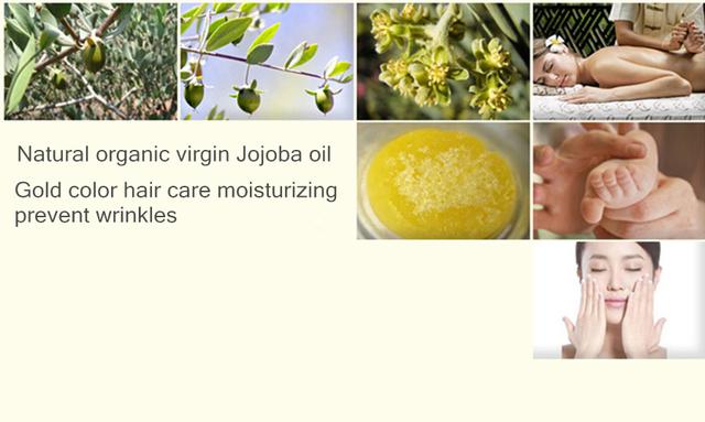 Jojoba Essential Oil for Skin Hair and SPA Aromatherapy