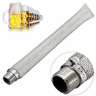 1pc Stainless Steel Filter Screen Mesh Bar Tools Stainless Steel Bazooka Screen 1/2
