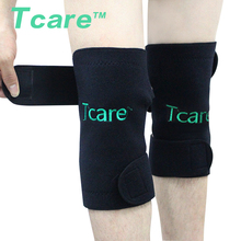 1 Pair New Hot Health Care Self-heating Tourmaline Knee Brace Support Knee Pad Tourmalin Magnetic Therapy Knee Pads  2pcs magnetic therapy ankle brace support spontaneous heating protection elastic ankle belt leg pads protectors health care