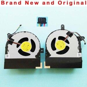 New original cpu gpu cooling fan for ASUS ROG G752 G752V G752VY G752VT fan cooler DFS200405BI0T FHCV DFS201005BI0T FHCW DC 5V(China)