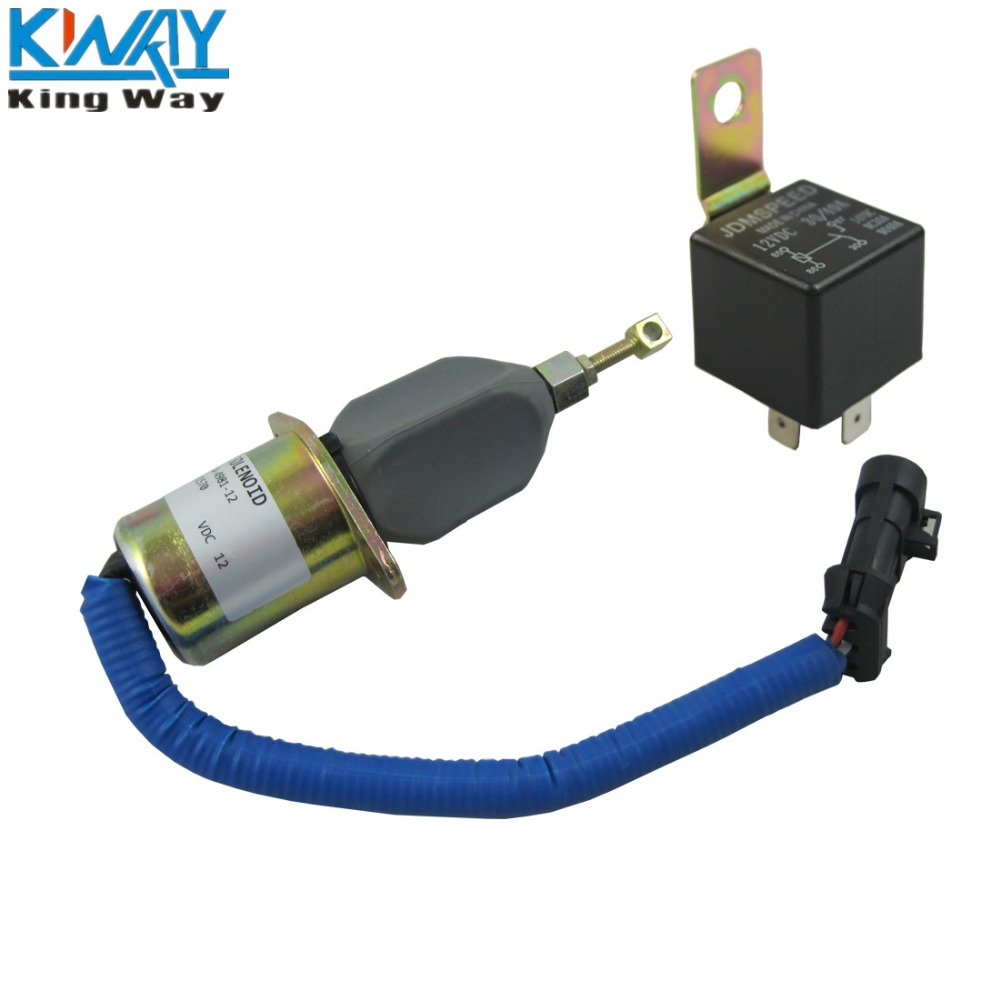 NEW FUEL SHUT OFF SOLENOID FOR 94-98 DODGE RAM Pickup Truck CUMMINS DIESEL 5.9L