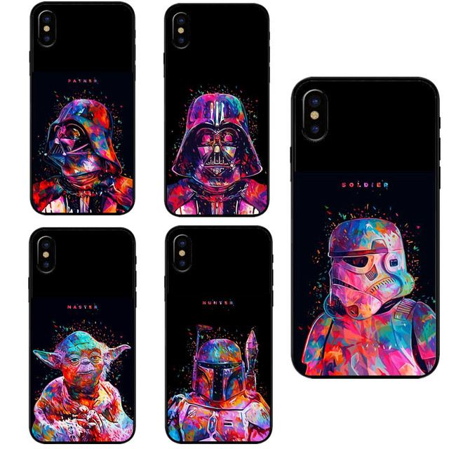 sports shoes c36ec d93bb US $1.55 40% OFF|Star Wars R2D2 Han Solo Frozen in Carbonite Print Hard PC  Phone Case For iPhone 5 5s SE 6 6S Plus 7 7 Plus 8 8 Plus X 10 Cover-in ...