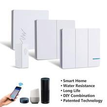 Remote Control Wireless Light Switch Tuya Smart Life APP WIF
