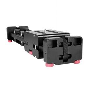 Image 4 - Nouveau professionnel réglable DSLR caméra vidéo curseur piste 40cm Double Distance pour Canon Nikon Sony caméra DV Dolly stabilisateur