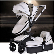 Strollers cortex bidirectional shock stroller high landscape can sit lie stroller baby stroller child Free shipping