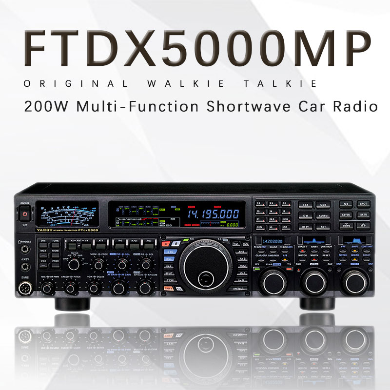 Apply To Yaesu FTDX5000MP HF / 50MHz 200W Multi-Function Shortwave Radio Car Radio