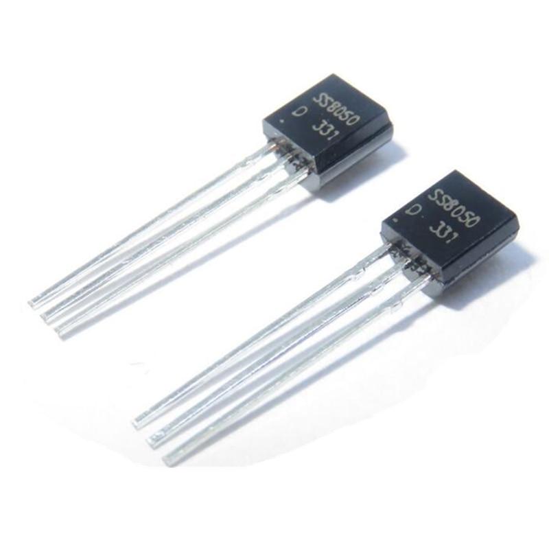 lot SS8050D Transistor SS8050 TO-92 NPN En stock Transistor 100pcs