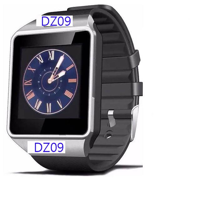 Original dz09 bluetooth smart watch sim/tf cartão para mulheres dos homens do esporte relógio de pulso pedômetro ios android telefones com câmera pk gt08