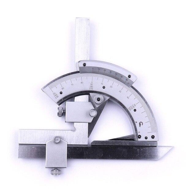 320 Degree Universal Bevel Transferidor Dial Angular ângulo de medição inner & outer