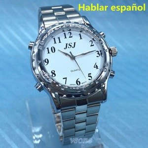 Image 1 - Hablar שעון לאנשים עיוורים או אנשים לקויים ראייה אספניול ספרדית Talking