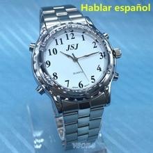Hablarスペイン腕時計用視覚障害者または視覚障害者スペイントーキング