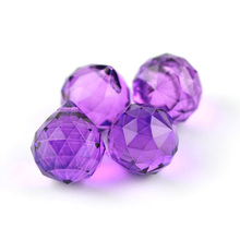 30pcs Colorful chandelier crystal balls cut-faceted 20mm for hanging lamp&lighting part home decor