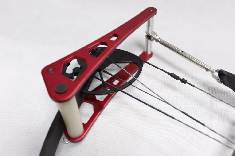 Image 3 - 化合物弓アルミ合金ハンドヘルドポータブル弓プレスの矢の弓狩猟アルコ e flecha アクセサリー -    グループ上の スポーツ & エンターテイメント からの ダーツ の中