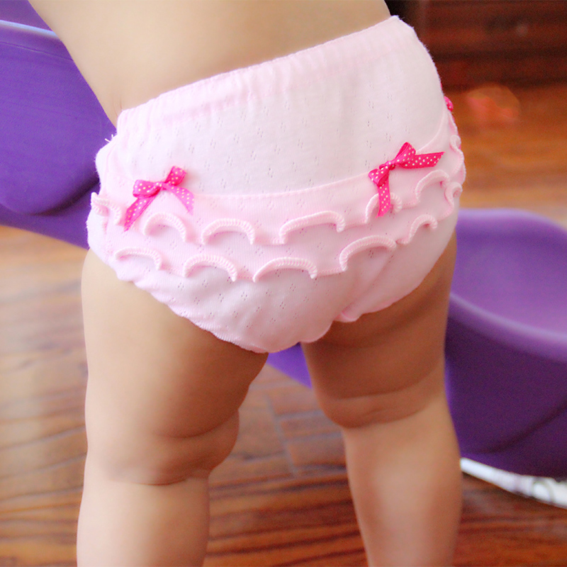 2pieces/lot cotton baby girls underwear 2017 New Style underpanties kids briefs 6-12months 1-3Years