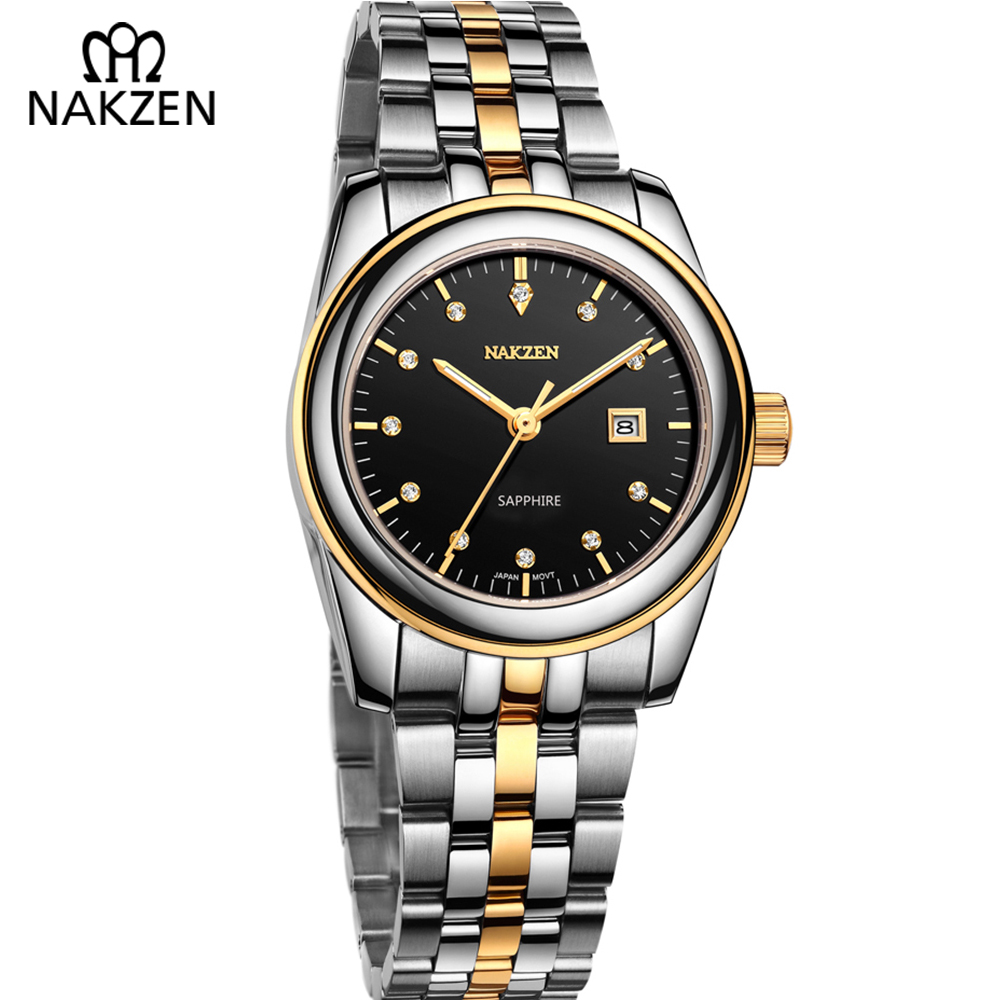 Luxury Women Watch 5Bar Waterproof Business Quartz Wristwatch Lady Rose Gold Bracelet Watches Bling Rhinestone Relogio Feminino