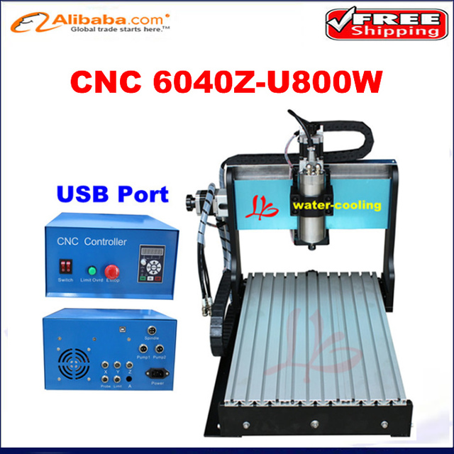 Hot Sale General Woodworking Machinery Usb Port Cnc Router 6040 Z S