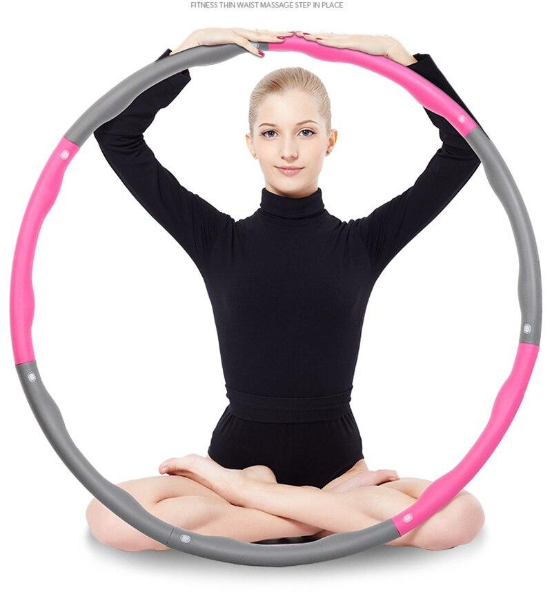 New Sports Hoop Hula Hoop Health Care Spring Hoola Hoop Waist Support Exercise Best Weighted Exercise Diet  SL3012 hoola кисть для контуринга