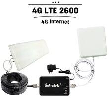 4 Г LTE 2600 мГц Band 7 Мобильный Сигнал Усилитель 65dB Усиления Интеллектуального Управления Сотовый Телефон gsm Репитер Booster + антенна России