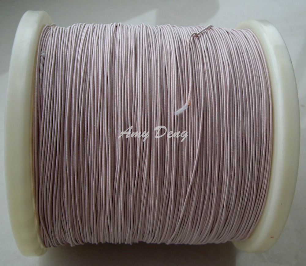 500meters/lot  0.1x10 Shares Liz Mul Strand Copper Wire According To The Sale Of Cotton Polyester Meters