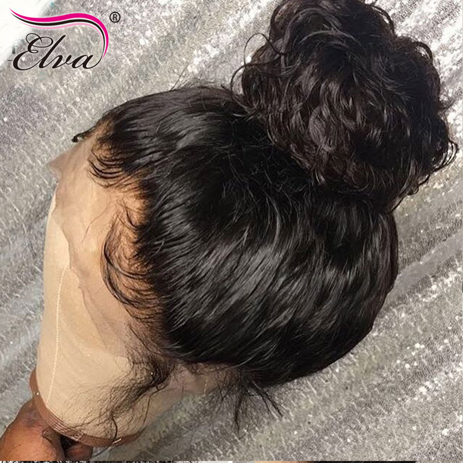 Elva Hair Full Lace Human Hair Wigs For Black Women Pre Plucked Full Lace Wig With Baby Hair Curly Full Lace Wigs Remy Hair