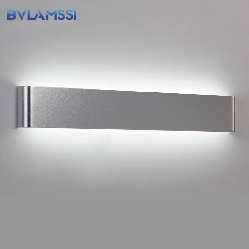 Modern LED Wall lamp Lighting Bedroom bedside Wall Sconce bathroom mirror aluminum light fixture direct creative aisle Pathway modern wall lamp glass ball led wall sconces bedside wall light fixture bedroom luminaria home lighting vintage lamp