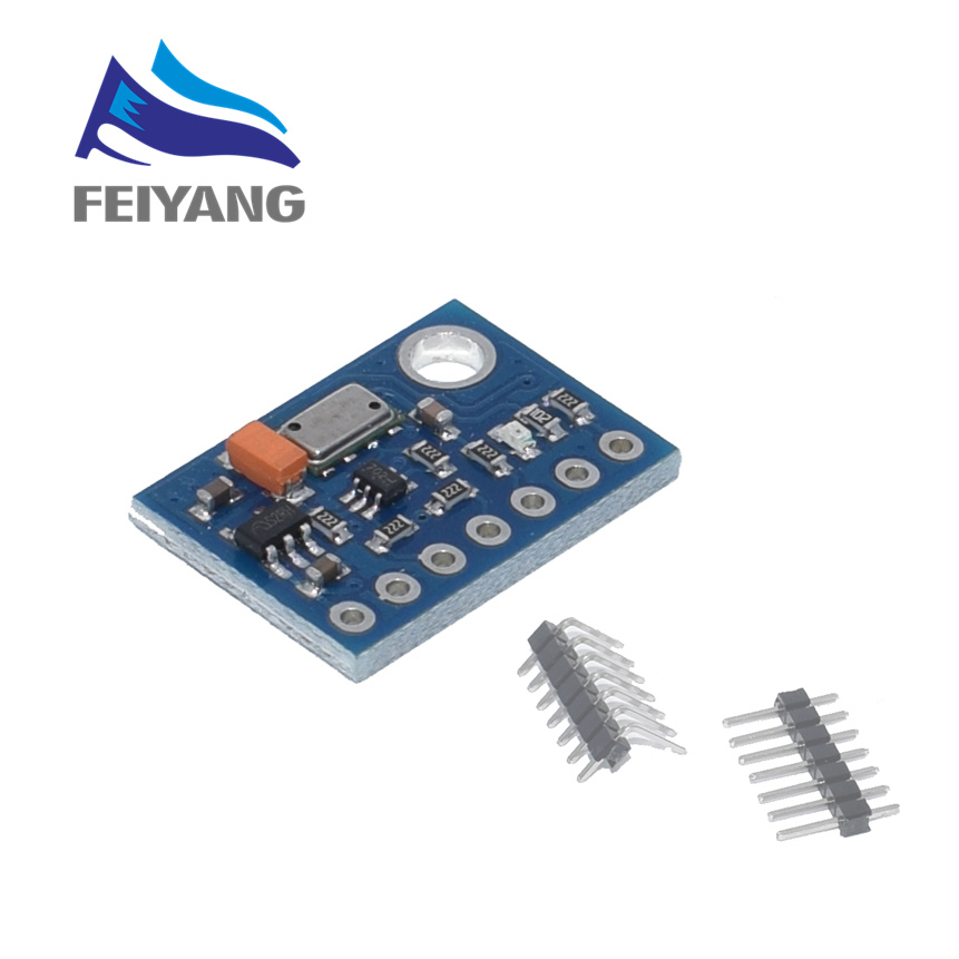 GY-63 MS5611 High-resolution Atmospheric Height Sensor Module IIC / SPI Communication DropGY-63 MS5611 High-resolution Atmospheric Height Sensor Module IIC / SPI Communication Drop