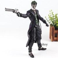 Batman Joker Figure Play Arts KAI Action Figure Arkham Origins NO. 4 The Joker Toy Figurine Doll 27cm