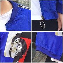 Spring & Autumn Wear Long Sleeve Basic Bomber Jackets for Womens