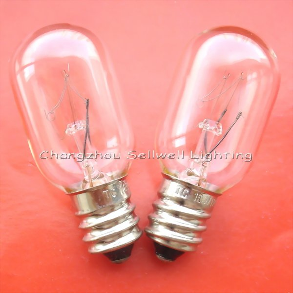 New!miniature Lamp Light 100v/110v 5w E12 T20x48 Free Shipping A601 ...