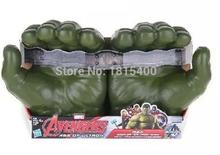 Cool Kids font b Toy b font Gifts Plastic Gloves From Marvel Movie The Avenger Super