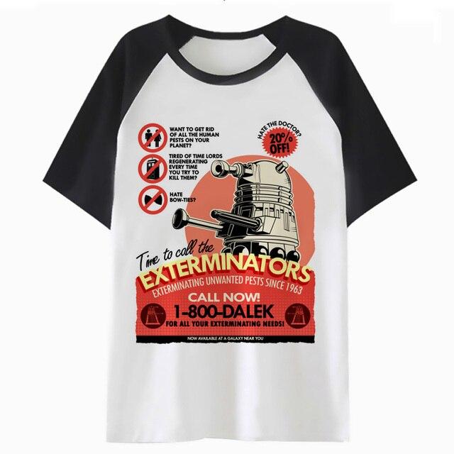 990f8eb9e390 Doctor Who t shirt cartoon tops kawaii female femme tee women harajuku  graphic t-shirt