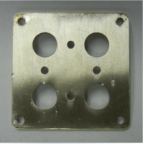 3 D printer accessory ultimaker protective metal plate 304 stainless steel thickness:3mm used with Cross sliding table