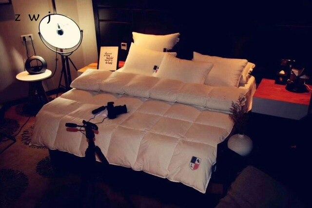 Quilts Baumwolle Patchwork Bettdecken 100 Ente Unten Warme