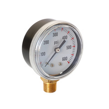 Replacement Pressure Gauge Part Spare 1/4 NPT Thread For Caliber Tool Radial Air Accessory 0-600 PSI