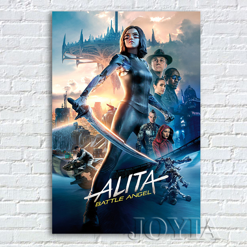 Movie Alita battle angel 24 X 14 inch Silk Poster