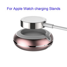 Hot Luxury Aluminum Alloy Stand Holder For Apple Watch Hybrid TPU+Aluminum alloy For iWatch Convenient Mini Smart Watch