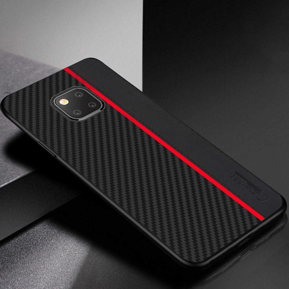 for Huawei Mate 20 Pro Case Original Carbon Fiber Leather Protect Shockproof Cover for Huawei Mate 20 P20 P30 Pro P20 Lite Case