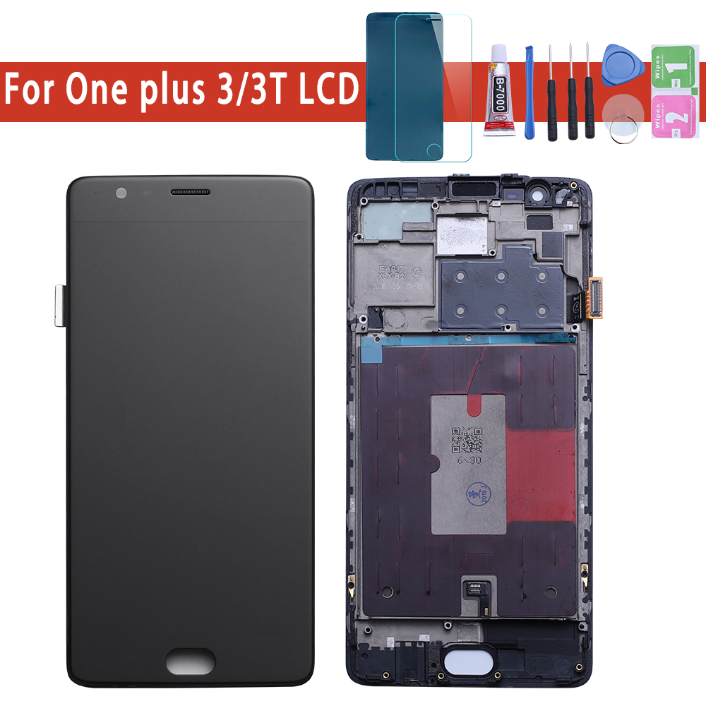 Oneplus 3T LCD Display Touch Screen 100% New FHD 5.5 Digitizer Assembly Replacement Accessory For One plus A3010 A3000 3 threeOneplus 3T LCD Display Touch Screen 100% New FHD 5.5 Digitizer Assembly Replacement Accessory For One plus A3010 A3000 3 three