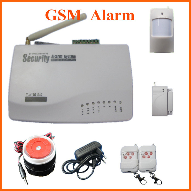 Russian Manual GSM HOME BURGLAR ALARM SYSTEM New Version More Powerful Double Antenna Prompt Voice S206